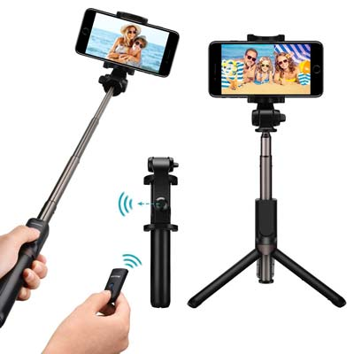 Mpow 3 in 1 Selfie Stick e treppiede bluetooth