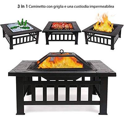 Femor Braciere da Esterno e barbecue a legna