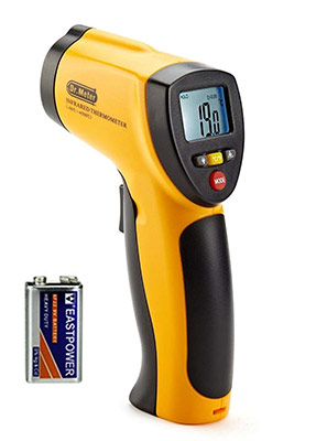 Dr.Meter IR-20 Termometro da cucina a Pistola Digitale ad Infrarossi