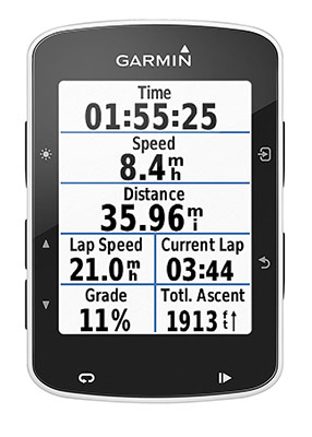ciclocomputer Garmin Edge 520 GPS Bundle Bike