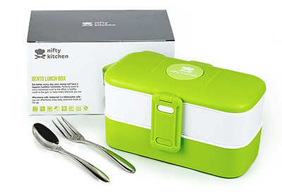 scaldavivande Bento Box della Nifty Kitchen