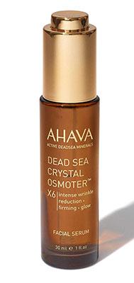 crema antirughe AHAVA mar morto cristallo Osmoter X6