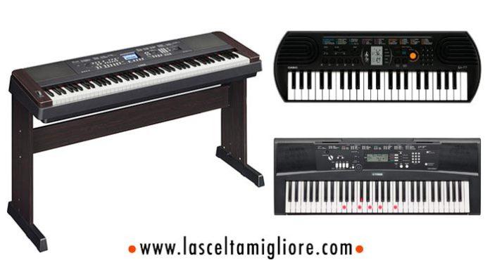 tastiera musicale pianoforte