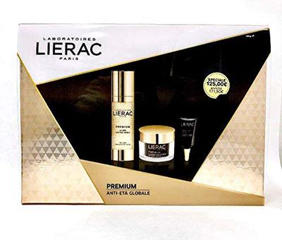 crema antirughe Lierac Coffret Premium La Cure + La Creme Voluptueuse + Yeux