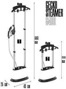 stiratrici verticali Gecko Steamer G400