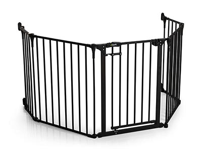 cancelletto bambini Hauck Frieplace Guard XL Cancellato di Sicurezza per Camino