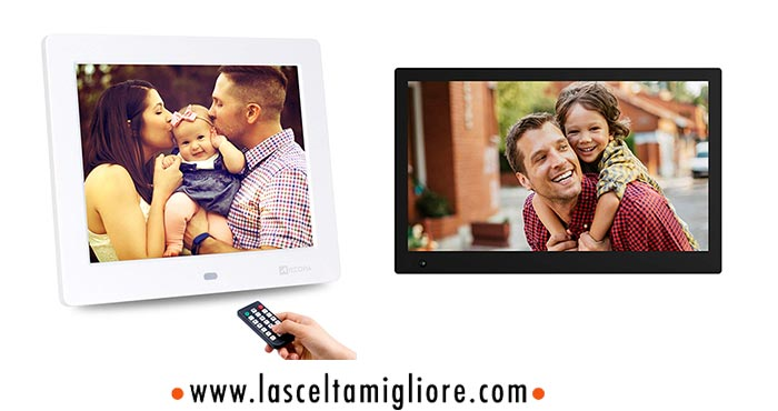 Cornice Digitale Con Sveglia E Calendario.Cornice Digitale Migliore Prezzi Modelli E Consigli 2019