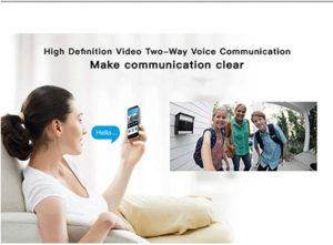 WQYRLJ Videocitofono WiFi citofono wireless