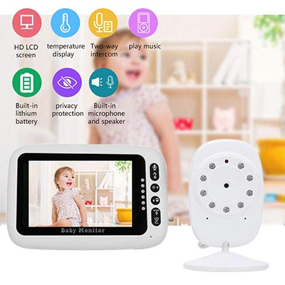 Manooby Wireless Baby Monitor