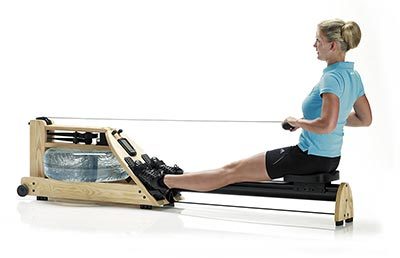WaterRower Vogatore A1 con Monitor