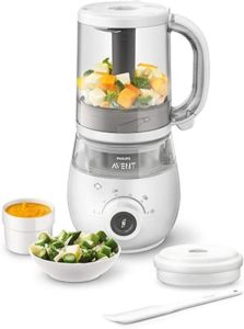 Philips Avent SCF883/01 EasyPappa Plus 4 in 1 Cuocipappa