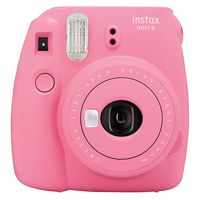 Fujifilm Instax Mini 9 Flamingo macchina fotografica istantanea
