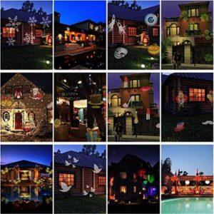 SHUAI Natale proiettori luci di natale