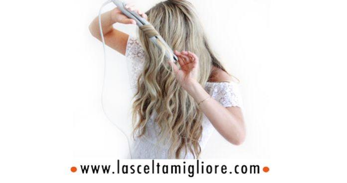 Come fare i capelli mossi con la piastra