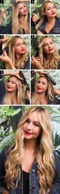 capelli mossi: piastra piatta