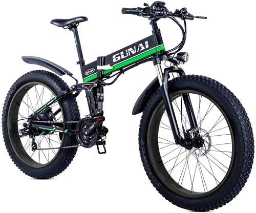 GUNAI Mountain Elettrica Bike